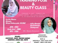 Training Pose & Beauty Class With Wardah Cosmetics - UIN SGD Bandung, 12 Februari 2017
