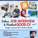 Workshop Sukses Job Interview dan Membuat Good CV - Kulon Progo, 22 Januari 2017