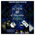 "ACTION ""Light Up The Dark Emptiness with Art and Education"" - Amphiteater UPI, 18 Februari 2017"