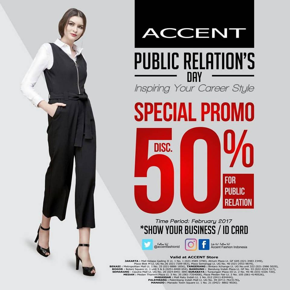 Accent Public Relation's Day, Periode Februari 2017