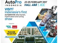 AutoPro Indonesia - Jakarta Convention Center, 23 - 25 Februari 2017