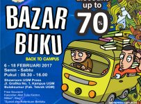 "Bazar Buku UGM Press ""Back To Campus"" - Showroom UGM Press, 06 - 18 Februari 2017"