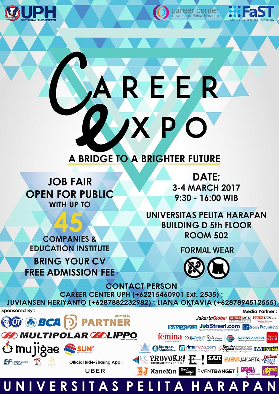 Career Expo - Universitas Pelita Harapan, 03 - 04 Maret 2017