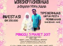 Fashion Hijab Workshop - Jakarta Design Center, 05 Maret 2017