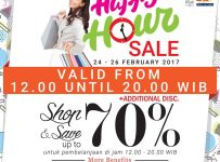 Golden Trully Happy Hour Sale, Periode 24 - 26 Februari 2017