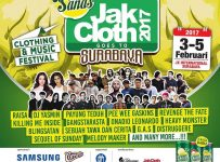 JakCloth Goes to Surabaya - JX International, 3 - 5 Februari 2017