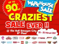 Kidz Station Warehouse Sale - The Hall Senayan City, 20 - 25 Februari 2017