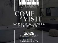 Lamina Granite Exhibition Jakarta - Gandaria City Mall, 20 - 26 Februari 2017