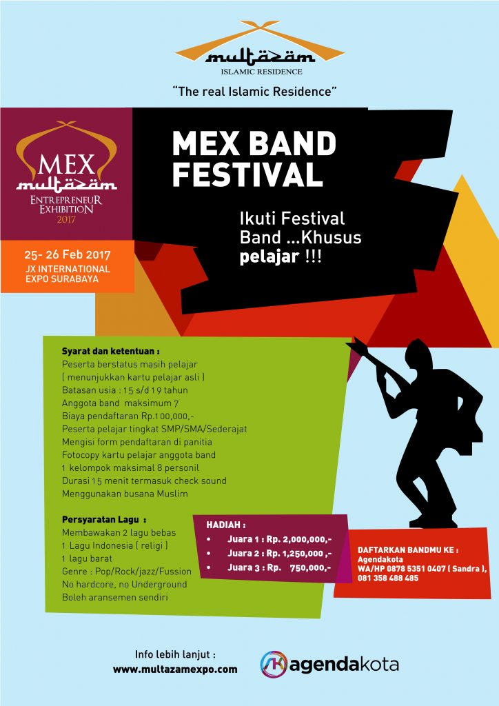 MEX Band Festival - JX international Surabaya, 25 - 26 Februari 2017