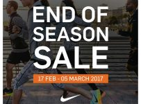 Nike End of Season Sale, Periode 17 Februari - 05 Maret 2017
