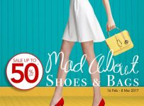 Parkson Mad About Shoes & Bags, Periode 16 Februari - 8 Maret 2017
