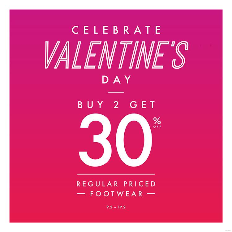 Payless Valentine's Day Promo, Periode 9 - 19 Februari 2017