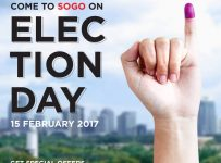 Sogo on Election Day, Periode 15 Februari 2017