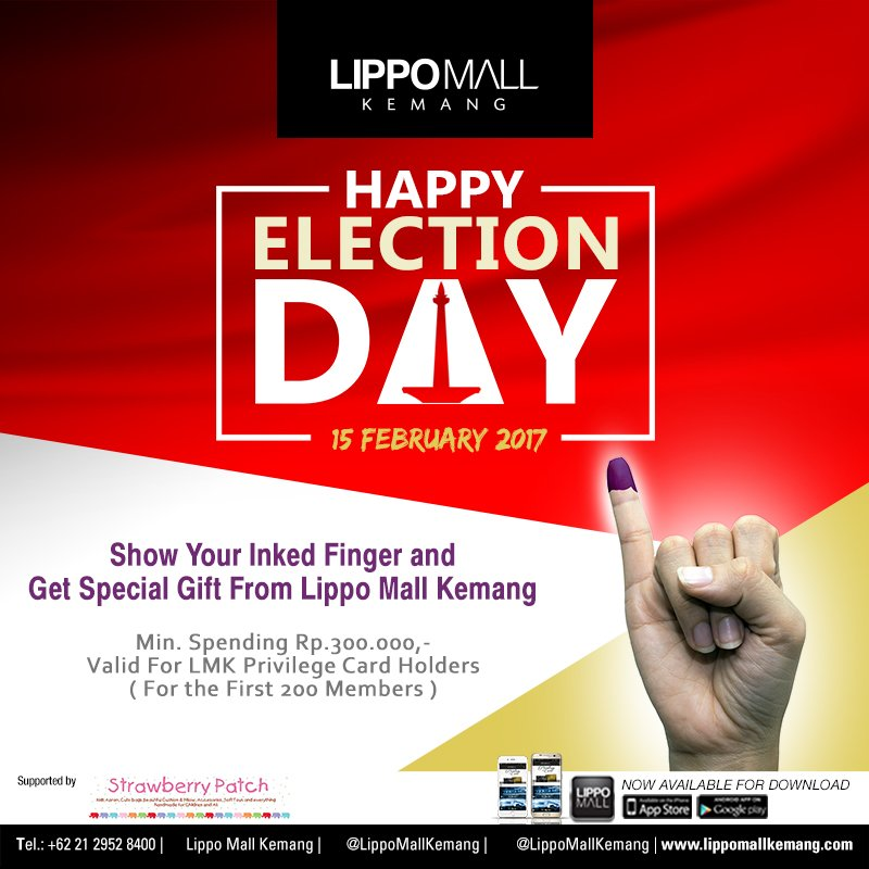Special Gift from Lippo Mall Kemang & fX Sudirman, Periode 15 Februari 2017