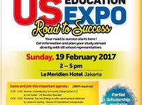 "US Education Expo ""Road to Success"" - Hotel Le Meridien Sudirman Jakarta, 19 Februari 2017"