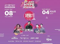 """Up and Hype """"Neon Sky Party"""" - Hotel Horison Bekasi, 04 Mar 2017"""