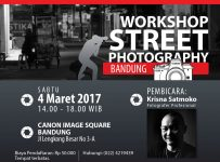 Workshop Street Photography Bandung - Canon Image Square, 4 Maret 2017