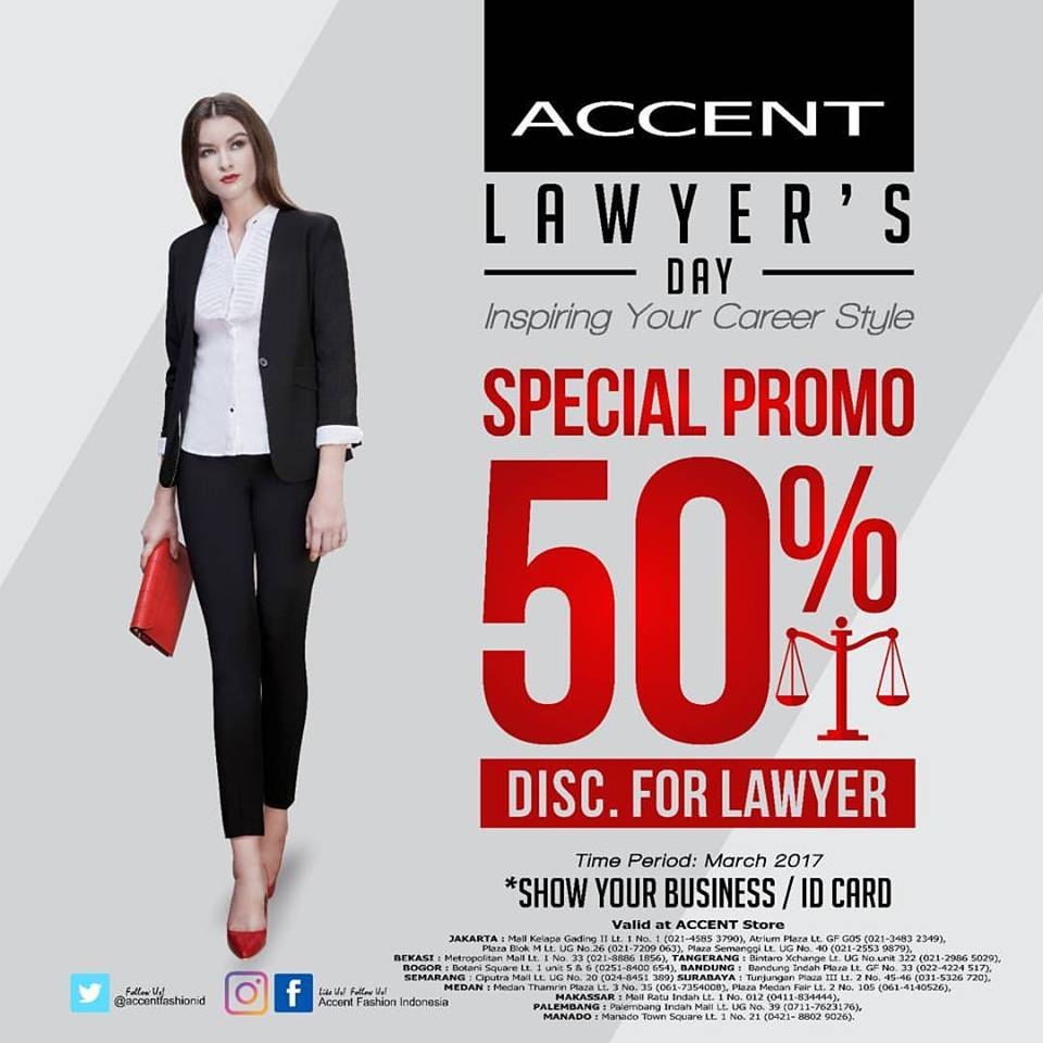 Accent Lawyer's Day, Periode Maret 2017