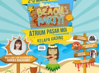 "Beach Party ""Food & Fashion Bazaar"" - Atrium Pasar MOI, 2 - 5 Maret 2017"