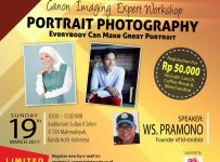 Canon Imaging Expert Workshop - Auditorium Sultan II Selim Banda Aceh, 19 Maret 2017