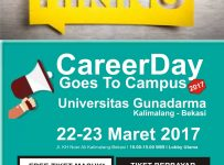 Career Day Goes to Campus - Universitas Gunadarma, 22 - 23 Maret 2017