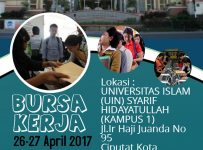 Career Fair Campus Universitas Islam Negeri (UIN), 26 - 27 April 2017