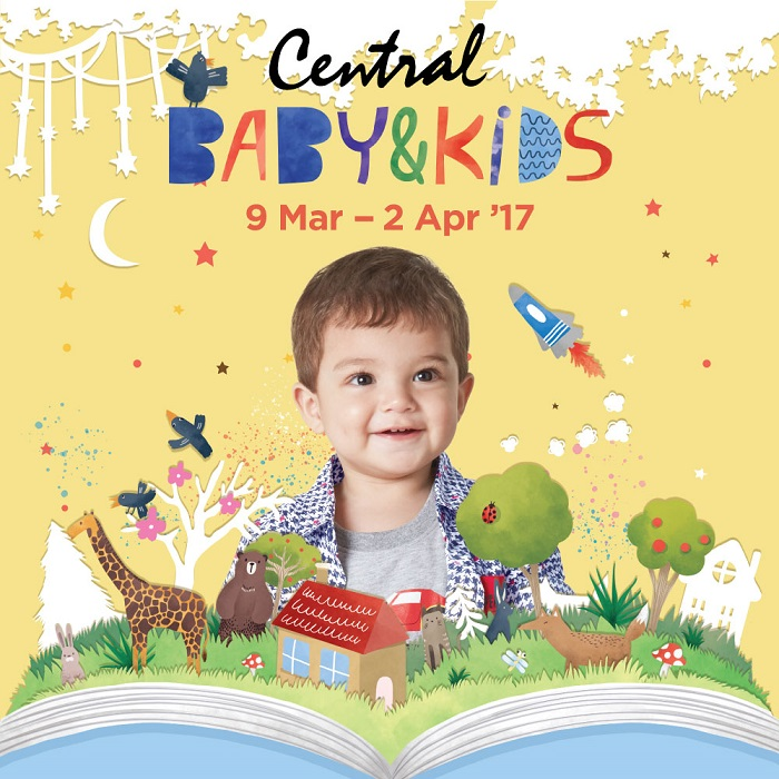 Central Baby & Kids, Periode 9 Maret - 2 April 2017Central Baby & Kids, Periode 9 Maret - 2 April 2017