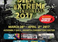 Deep and Extreme Indonesia - Jakarta Convention Center (JCC), 30 Maret - 02 April 2017