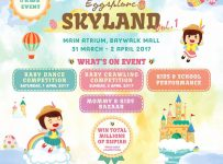 Eggsplore Skyland Vol. 1 - Atrium Baywalk Mall Jakarta, 31 Maret - 02 April 2017