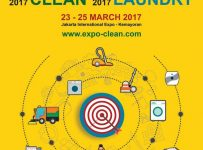 Expo Clean & Laundry - Jakarta International Expo, 23 - 25 Maret 2017