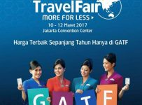 Garuda Indonesia Travel Fair (GATF) - Jakarta Convention Center, 10 - 12 Maret 2017