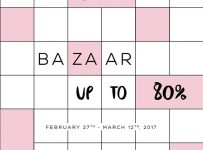 Gaudi Bazaar Up to 80% - Summarecon Mall Serpong, 27 Februari - 12 Maret 2017