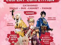 Hanami Festival Cosplay Competition - Landmark Residence Apartment Bandung, 9 April 2017