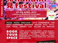 Hanami Festival - Landmark Residence Apartment Bandung, 7 - 9 April 2017Hanami Festival - Landmark Residence Apartment Bandung, 7 - 9 April 2017