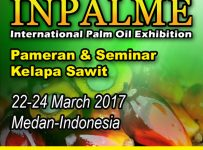 INPALME (International Palm Oil Exhibition) - SDCC Medan, 22 - 24 Maret 2017