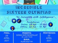 Incredible Sixteen Olympiad (ISO) 2017 - SMAN 16 Surabaya