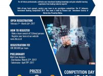 Indonesia Investment Banking Competition - Universitas Prasetiya Mulya, 17 - 19 Mei 2017