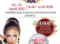 Jakarta International Jewellery Fair - JCC, 20 - 23 April 2017