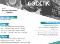 Lomba Film Pendek 60 Detik, Periode 11 Maret - 01 April 2017