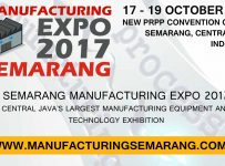 Manufacturing Expo Semarang - New PRPP Convention Centre, 17 - 19 Oktober 2017