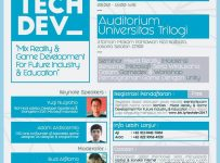 Mixed Reality & Game Development For Future Industry & Education - Universitas Trilogi, 15 Maret 2017