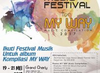 "Music Festival For ""My Way Music Compilation"" - Grand Charly TMII, 19 - 21 Mei 2017"