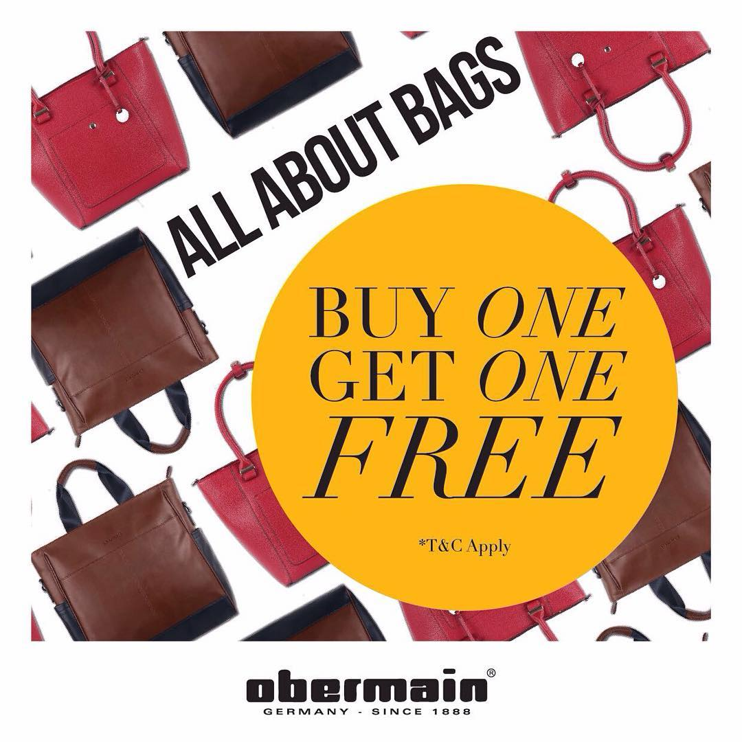 Obermain Buy One Get One Free, Periode Maret 2017