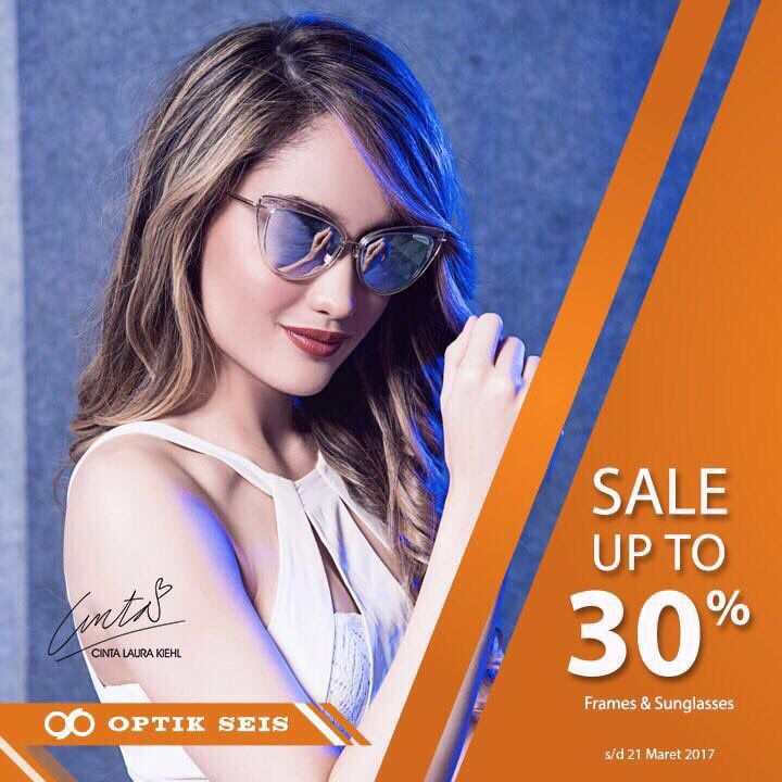 Optik Seis Sale Up To 30% - Periode Sampai 21 Maret 20171