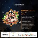 "Silent Parade ""Celebration Of Nyepi Day"" - Beachwalk Shopping Center Bali, 17 - 26 Maret 2017"