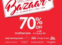 Spectacular Bazaar - The Hall Senayan City, 21 - 24 Maret 2017