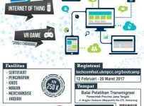 "Techcomfest Bootcamp ""Build Your Creativity and Upgrade Your Skill"" - Semarang, 24 - 26 Maret 2017"