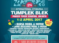 The 18th International Otobursa Tumplek Blek - Parkir Timur Senayan, 1 - 2 April 2017