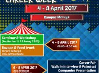 UMB Career Week - Universitas Mercu Buana Kampus Meruya, 04 - 08 April 2017
