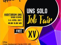 UNS Solo Job Fair - Auditorium UNS, 05 - 06 April 2017